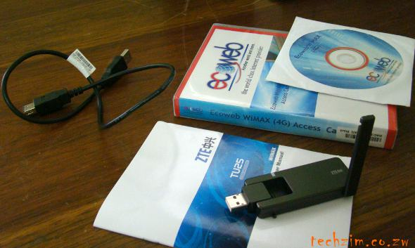 Ecoweb Mobile Wimax Kit
