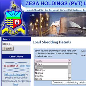 ZESA loadshedding