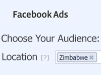 Facebook opens up: Now you can target Zimbabwe on Facebook