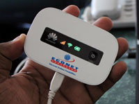 Econet launches 3G mobile Wi-Fi device, competes with fixed broadband providers