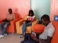 Google helps with tablet internet cafe concept trial in Senegal