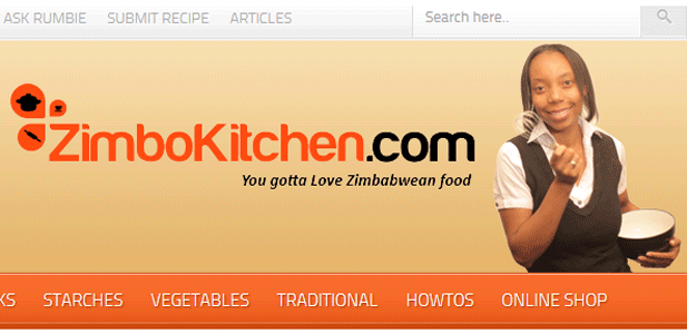 New look ZimboKitchen home page