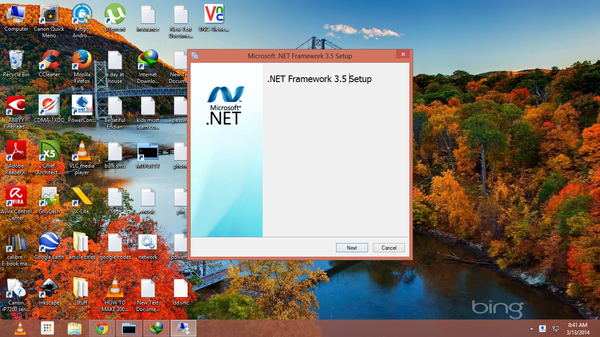 Installing the .Net framework on multiple machines from the internet can quickly gobble up your data allocation.