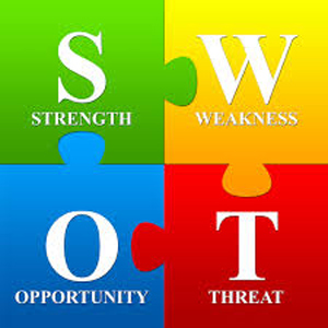 SWOT analysis diagram - image credit cerasis.com