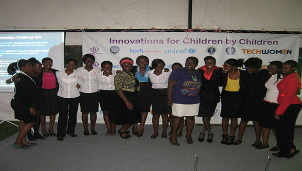 Some of the participants at Technovation Challenge. Image Credit- Mobile Learning Zone