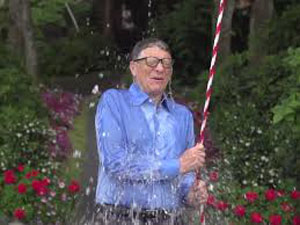 Bill Gates engages in the challenge - image credit - businessinsider.com