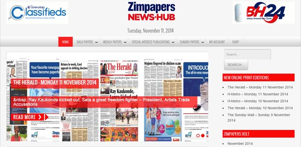 Zimpapers News Hub