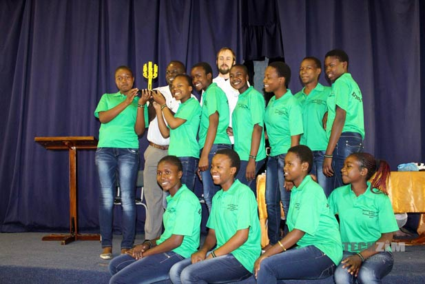 The Dynamite team from Dzivarasekwa High 1