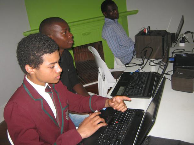 Some of the participants of Hour of Code Zimbabwe