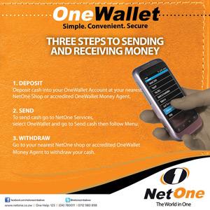 NetOne OneWallet Mobile Money