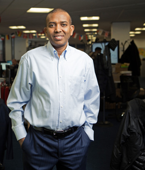 Ismail Ahmed, the founder and CEO of WorldRemit