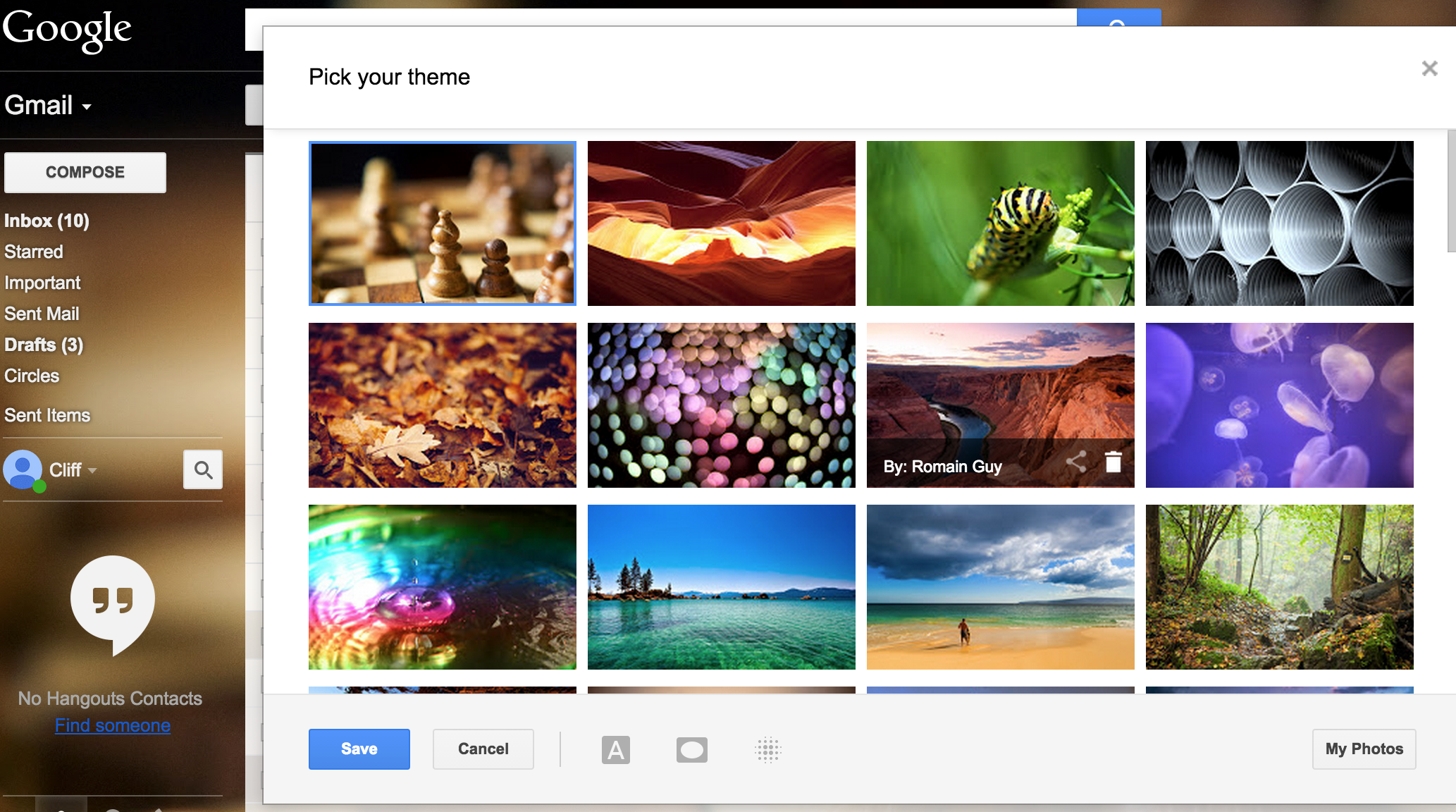Gmail themes for mobile - Gmail Themes