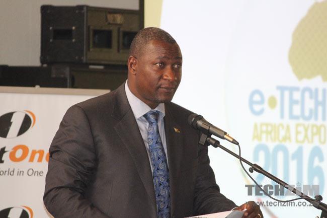 Supa Mandiwanzira, the Minister of ICT