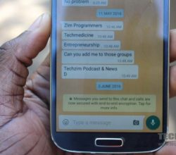 E2EE, WhatsApp messaging, mobile security in Zimbabwe, Security in Zimbabwe