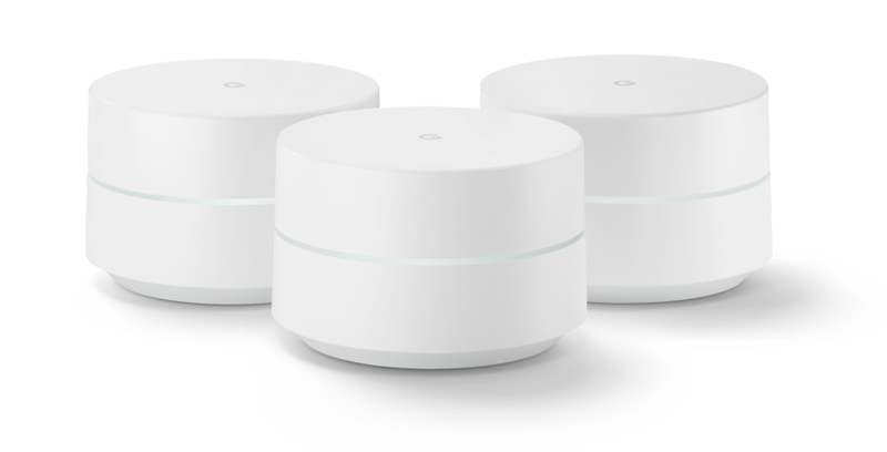 Routers, Google Devices, smart home