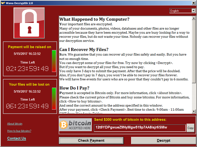 Amidst global ransomware attack, new versions of WannaCry emerge
