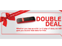 Holiday broadband deals: Africom offers double data