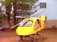 Bulawayo helicopter man. Here's to the crazy ones!