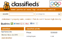 Zimbabwe's largest online classifieds site gets a new look