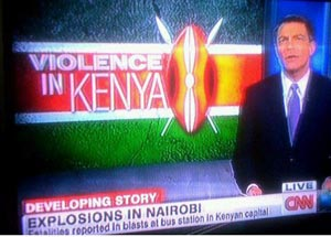 CNN 0 Violence in Kenya report