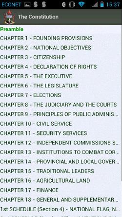 Veritas Constitution
