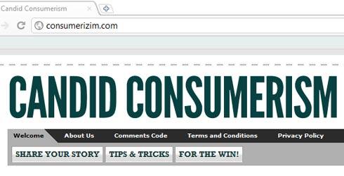 Candid Consumerisms