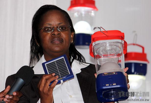 Econet Solar COO, Dorothy Zimuto