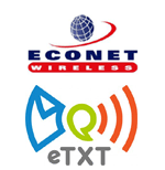 New Econet service powered by eTXT. SMS to Email, Chat and Facebook