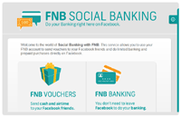 FNB's Social Banking; all socially, right inside Facebook