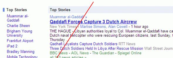 Google News Rhodesia
