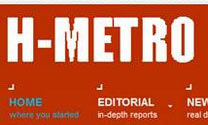 The ups and downs of the H-Metro website