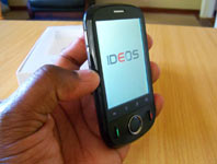 Review: The Huawei Ideos U8150 from Econet. Great value for money