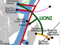 LION2 undersea cable system launches to become Kenya's fourth cable