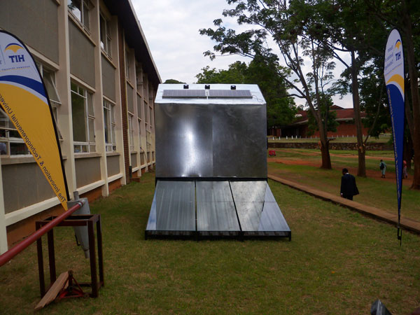 A solar vegetable dryer