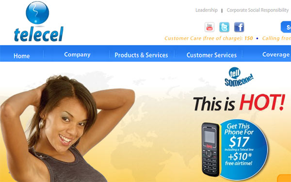 Telecel New Website