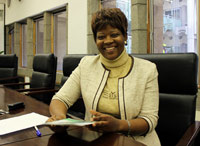 Talking about MedAccess mobile health with Altfin Health GM, Thembi Moyo