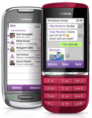 Viber for feature phones