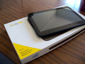 WeTab tablet