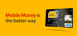 MTN Mobile Money Visa payments card allowing Zimbabweans to send money home cheaply