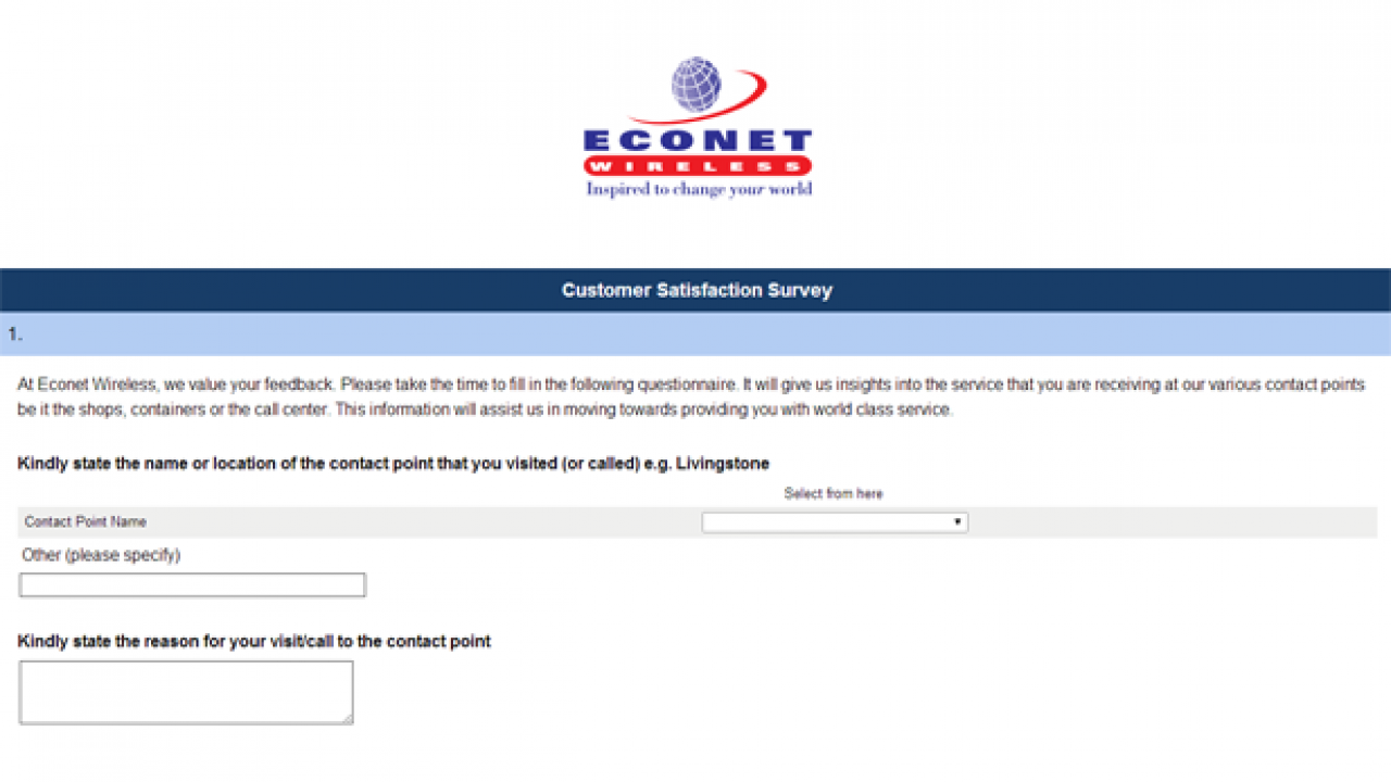 Here's an opportunity for you to give Econet a piece of your