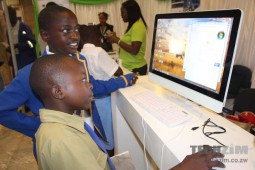 Remote learning in Zimbabwe