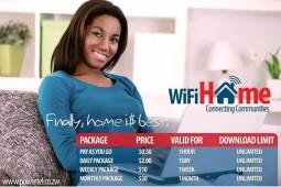 Powertel, Unlimited Internet, WiFi