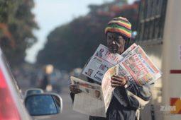 Harare, Vendors, Zimpapers, Print media, Street vendors