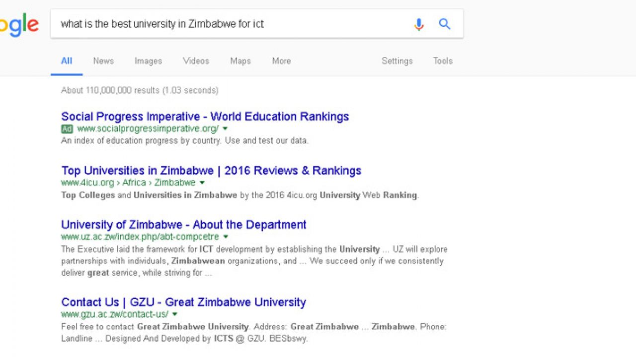 What Is The Best College To Study ICT In Zimbabwe In 2017