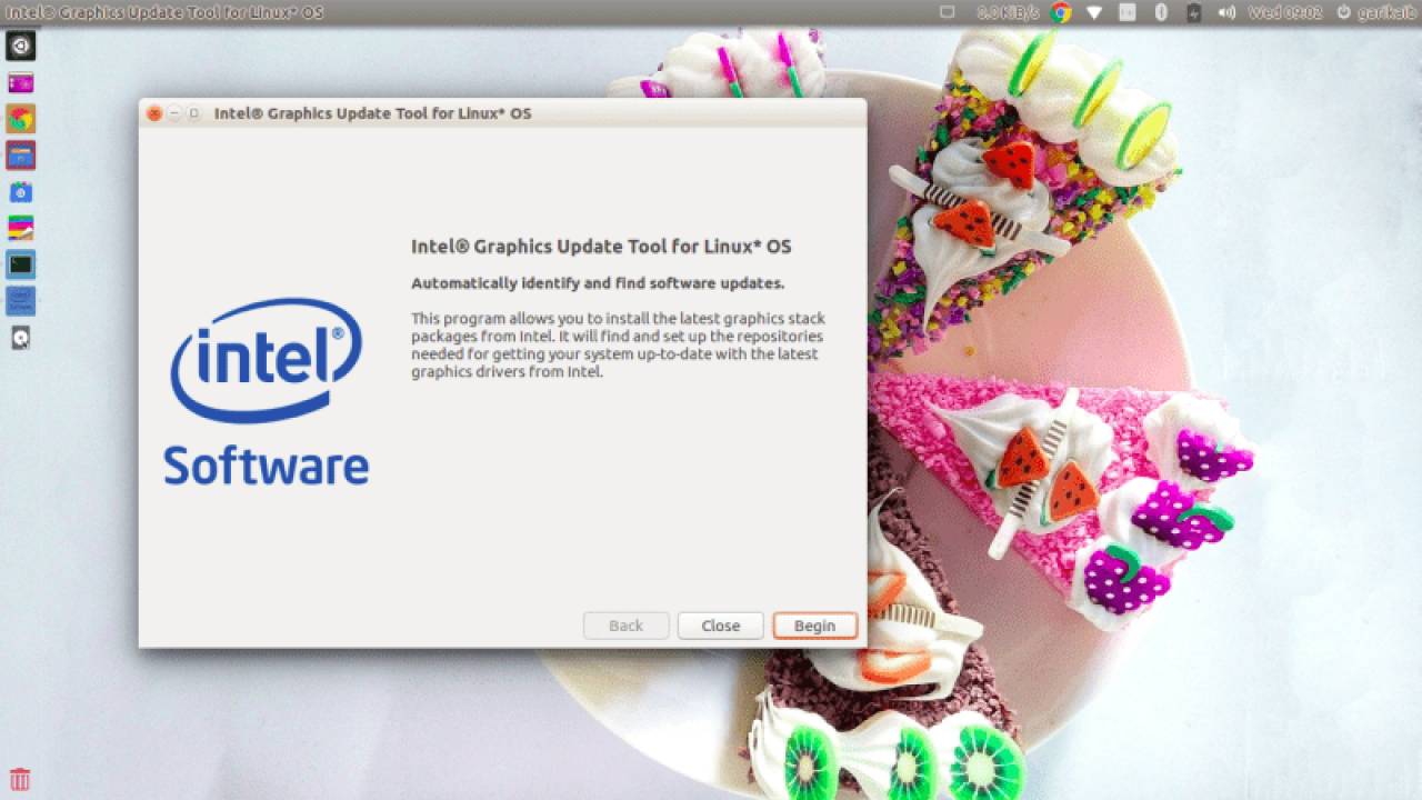 Here's a guide for installing the Intel graphics driver in Ubuntu