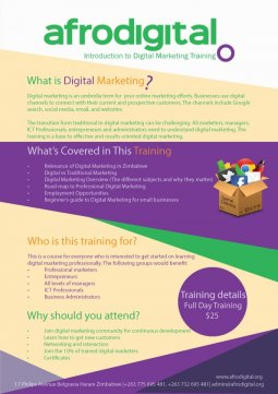 Afrodigital Digital Marketing course