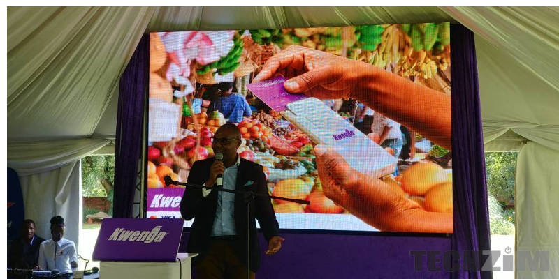Image result for Econet Wireless Zimbabwe owned Steward Bank today unveiled Kwenga, a portable Point of Sale (POS) machine