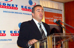 George Barbaressos Speaking at the Launch of Econet VoIP