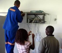 IT network cabling - Women in tech